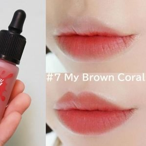 🤍MY BROWN CORAL Peripera Airy Ink Velvet Lip Nwt